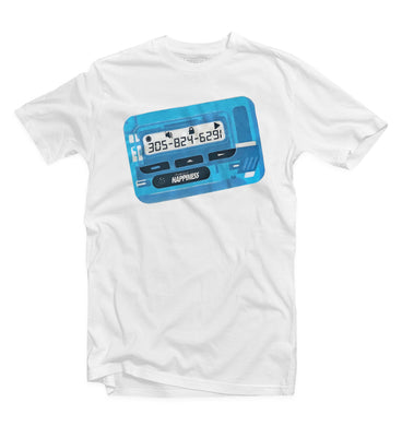 Express Beeper Tee (Electric Blue) - Pursuit Of Happiness