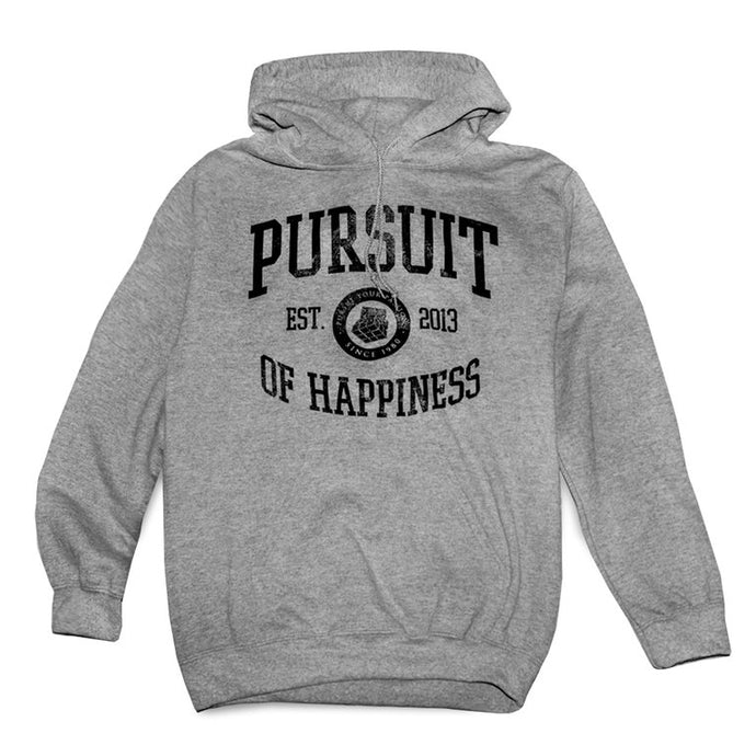 Grey- Pursuit Of Happiness University Hoodie - Pursuit Of Happiness