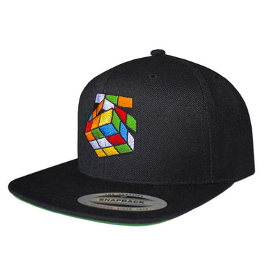 "Black ""Rubik's Cube"" Snapback - Pursuit Of Happiness"