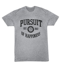 Pursuit of Happiness - Pursue Your Passion University - Rubik's Grey T-Shirt