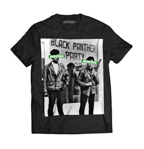 Black Panthers Medicinal Tee (Black) - Pursuit Of Happiness