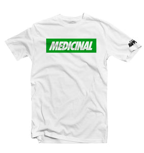 """MEDICINAL"" Box Tee - Pursuit Of Happiness"