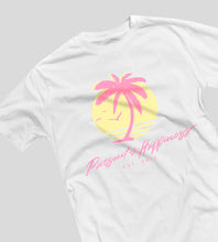 "Pursuit of Happiness ""Paradise Tee"" with a Throwback Miami Colorway"