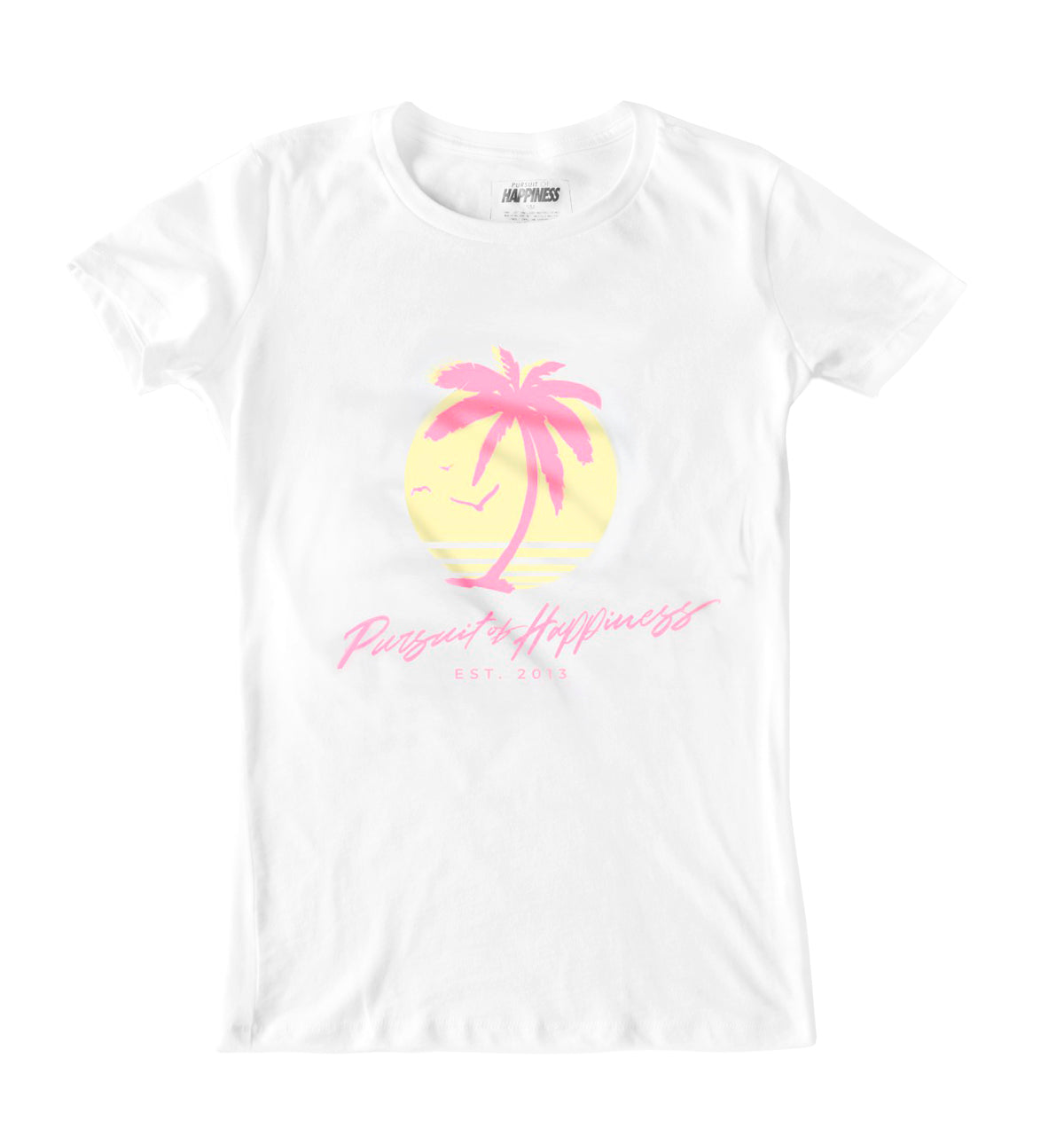 Paradise Tee (Ladies) - Pursuit Of Happiness