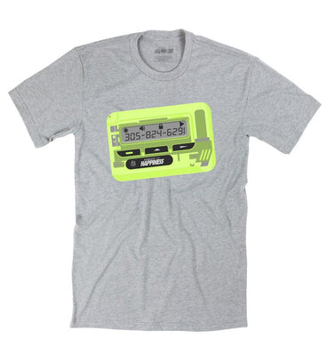Express Pager Tee - Pursuit Of Happiness