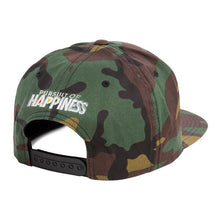 Camo Rubik's Snapback - Pursuit Of Happiness