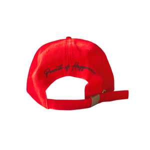 6 Panel Classic - Unstructured Red Rubik's Cube Dat Hat