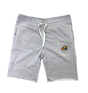 Heather Grey Rubik's Shorts - Pursuit Of Happiness