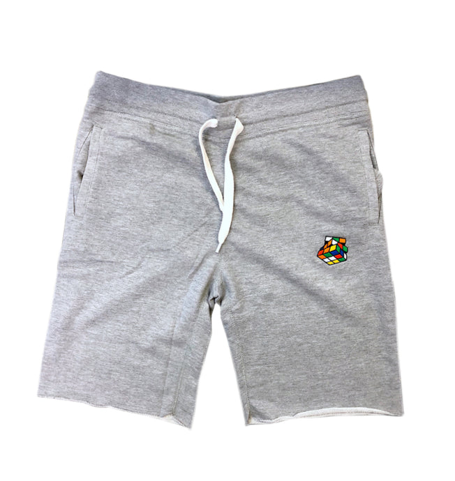 Heather Grey French Terry Fleece Shorts