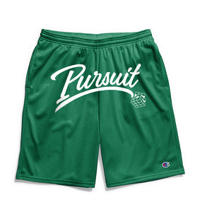 Pursuit Script Shorts- Green - Pursuit Of Happiness