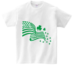 St. Patricks Day Flag Shirt