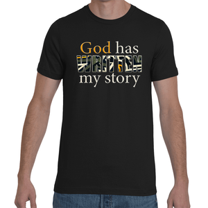 God has written my story