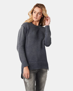 Kamila Crew Neck Denim