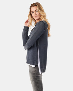 Kaia V Neck Denim