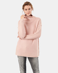 Karla Roll Neck Salmon