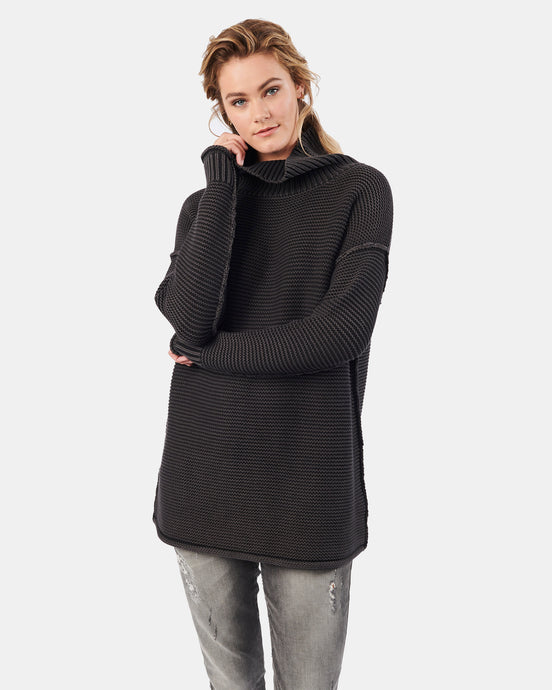 Karla Roll Neck Coal