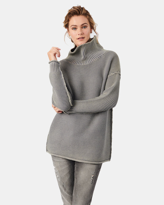 Karla Roll Neck Ash