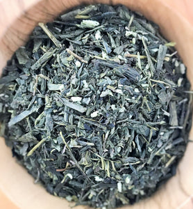Organic Whole Leaf Coconut Mint Green Tea