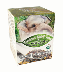 Organic Whole Leaf Chocolate Vanilla Chai Tea