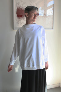 Funnel Neck Sweatshirt, long sleeve
