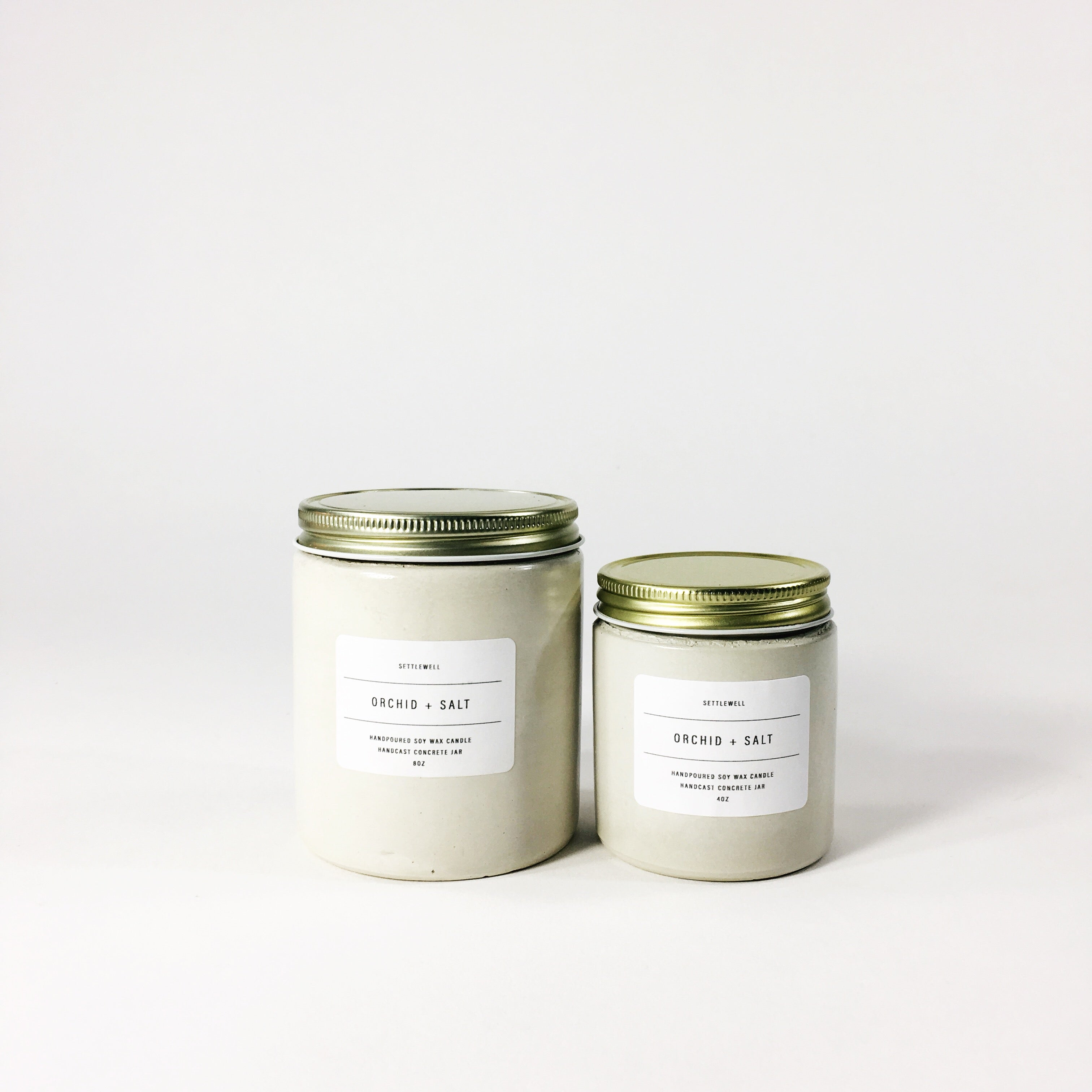 Settlewell Candle, Orchid & Salt