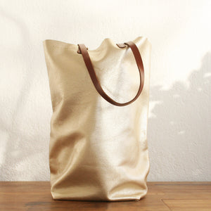 Paper Bag platinum metallic
