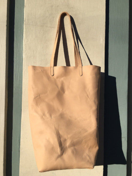 Paper Bag natural veg tan