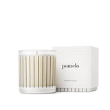 Studio Stockhome, Pinstripe Candle Collection, Pomelo