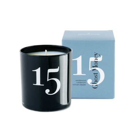 Studio Stockhome, Scent Memories Candle Collection, Ghost Money
