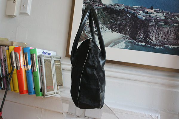Zuni Bag  in black horse