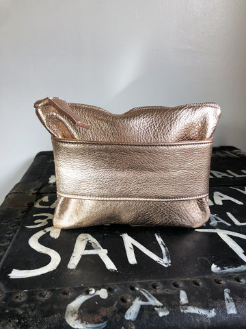 Wrist Pouch, rose gold