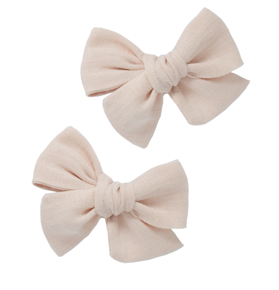 Load image into Gallery viewer, Ballet Slipper // Pinwheel Pigtail Set