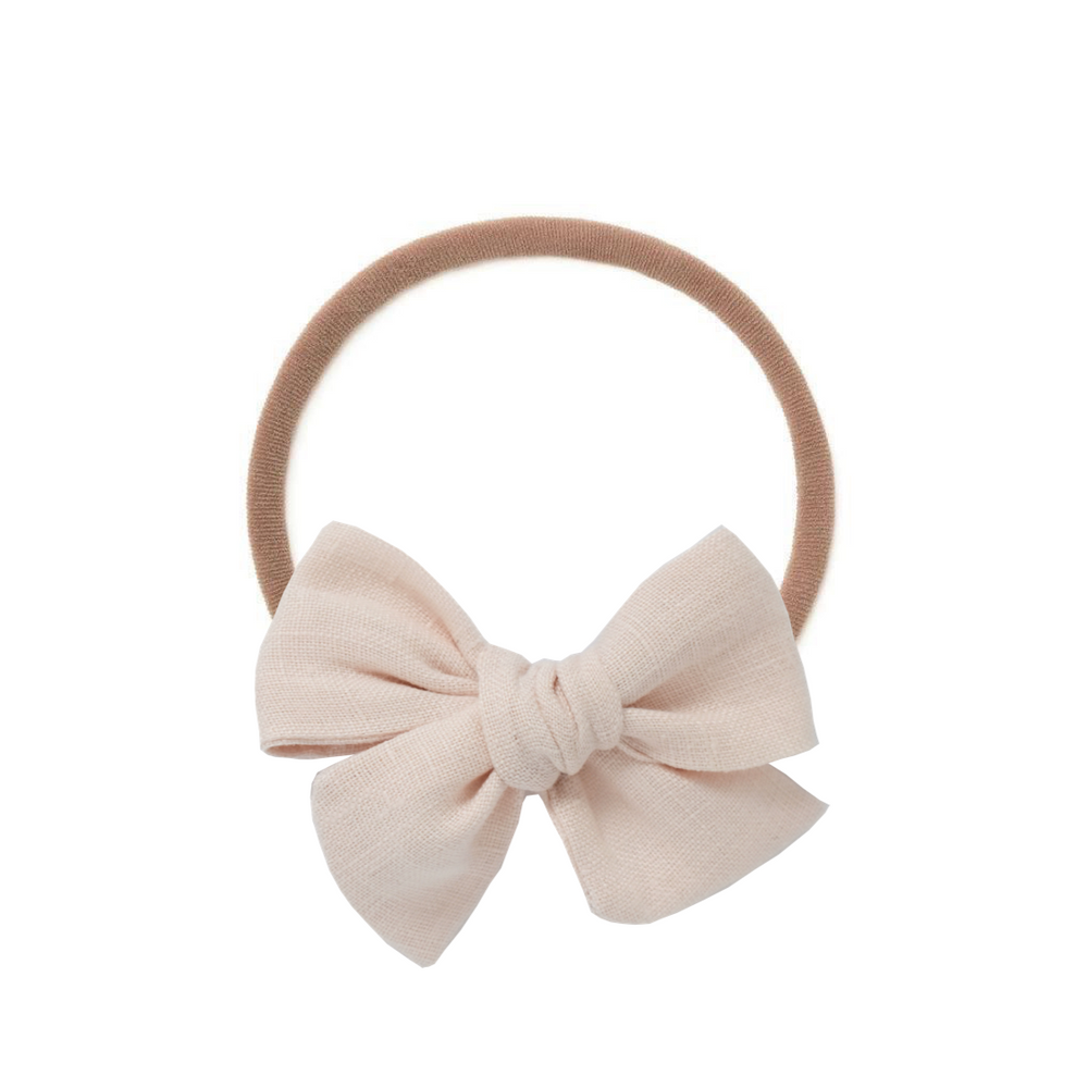 Ballet Slipper // Small Pinwheel Bow