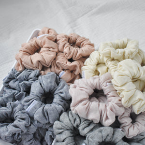 Load image into Gallery viewer, Rose Quartz  // Cashmere Scrunchie