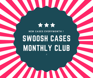 Swoosh Cases Monthly Club (Exclusive First Month Offer)
