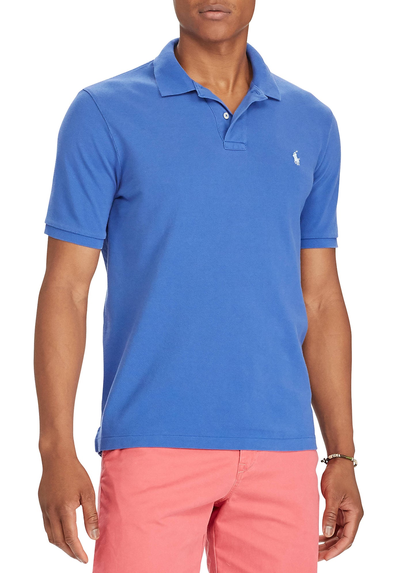 d9ef688ca3fb RALPH LAUREN Custom Slim Fit Mesh Polo Shirt – BonaChase