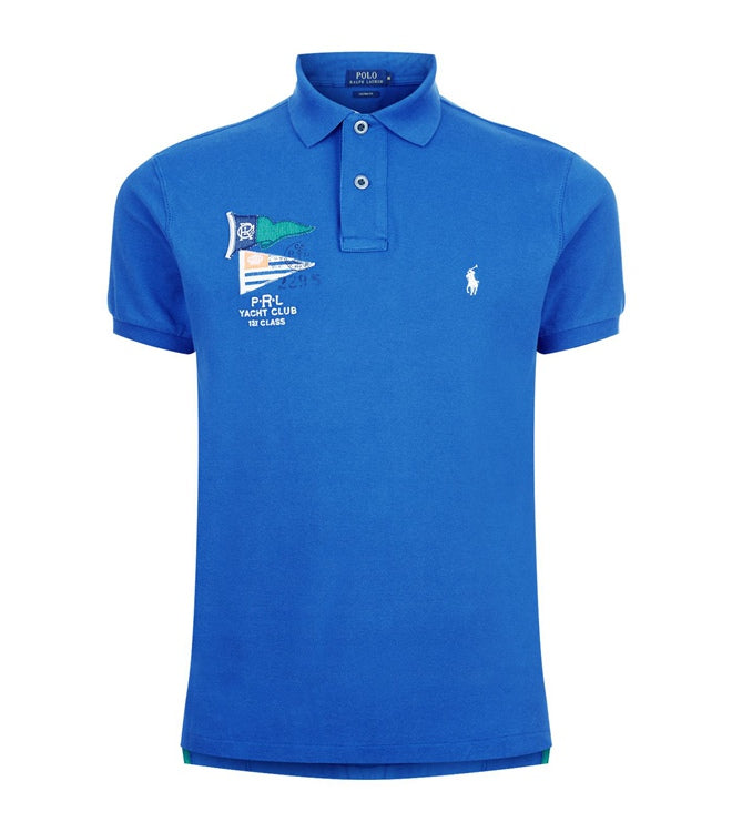 892bea02a RALPH LAUREN Custom Fit Yacht Club Flag Mesh Polo – BonaChase