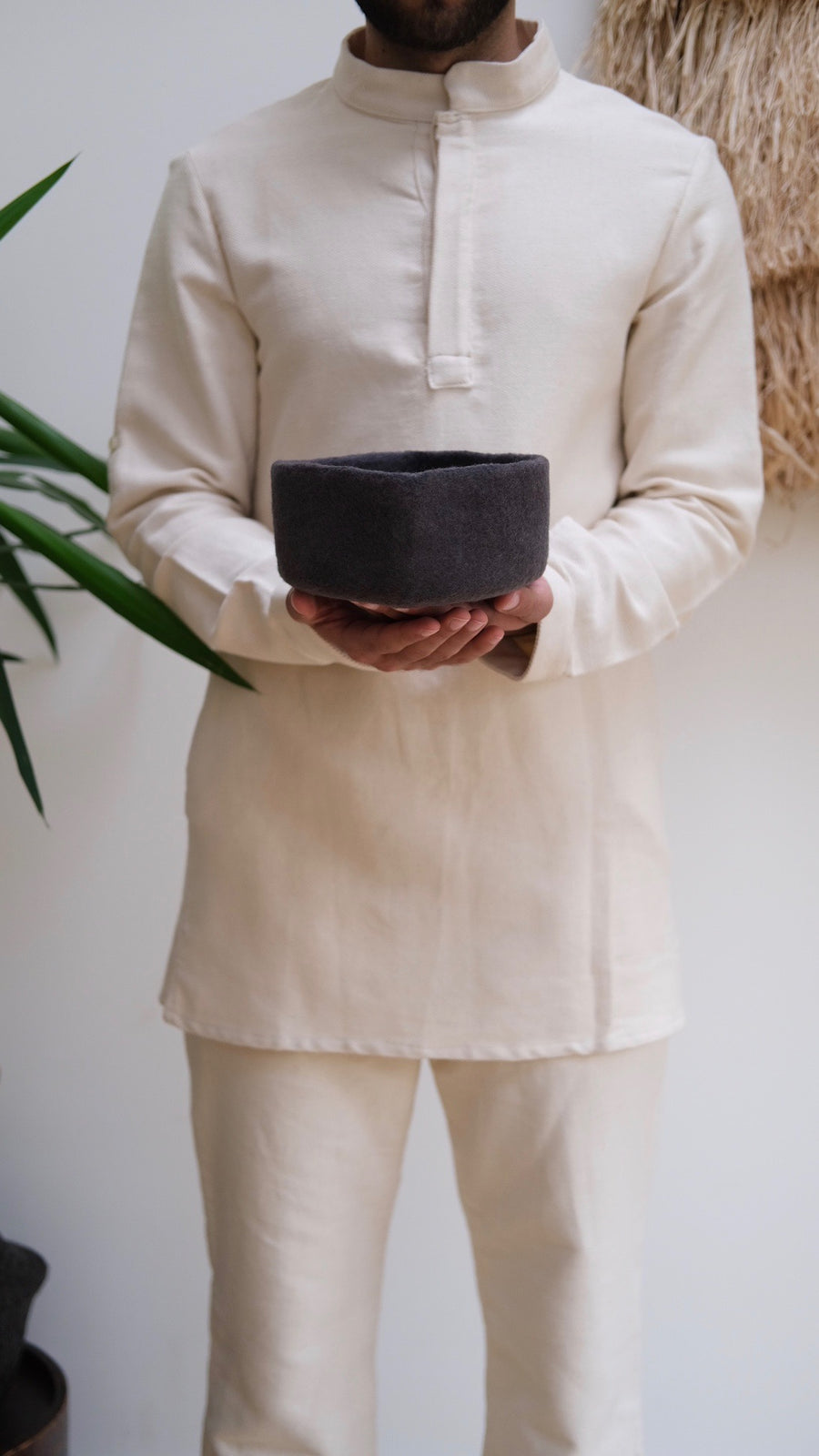 Chechia Hat Scholars' Qalam Grey