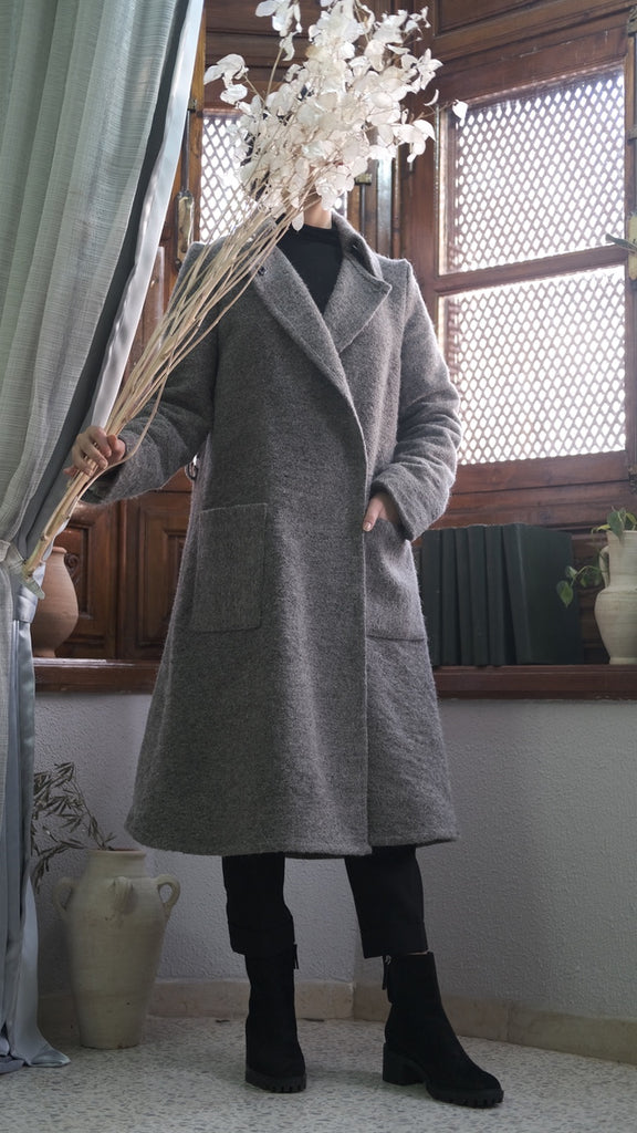 TALIBA II The Collared Trench Coat [Pending Release]