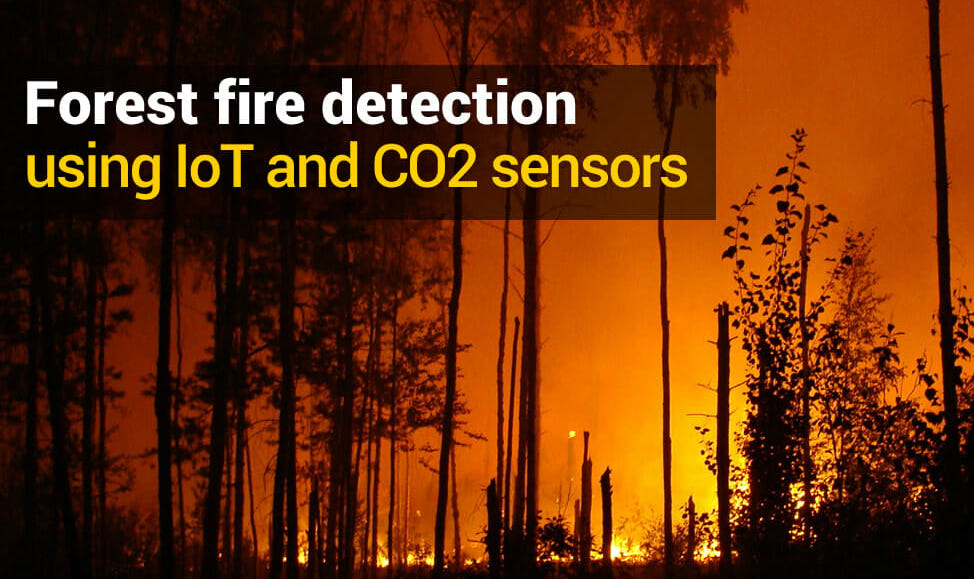 gas detection wildfire