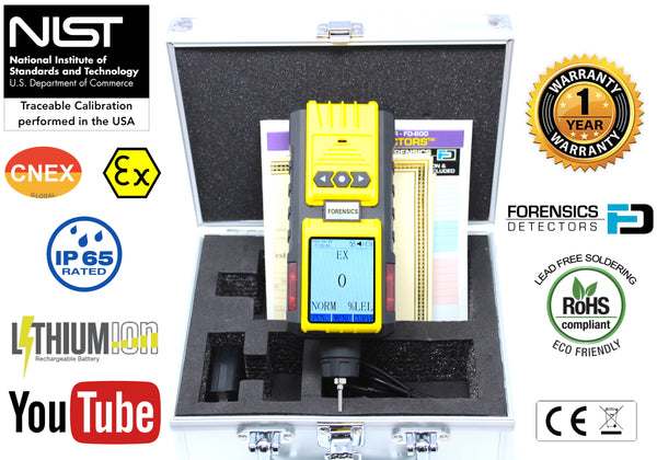 flammable gas analyzer combustible gas detector