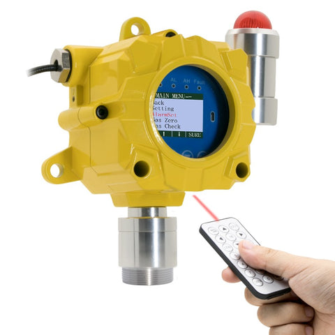 fixed wall mount H2S monitor