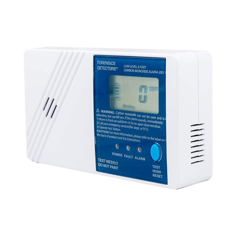 Low Level CO Detector | Fast 25ppm Alarm |
