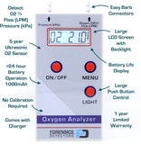 Oxygen Analyzer for Oxygen Concentrator - Forensics Detectors