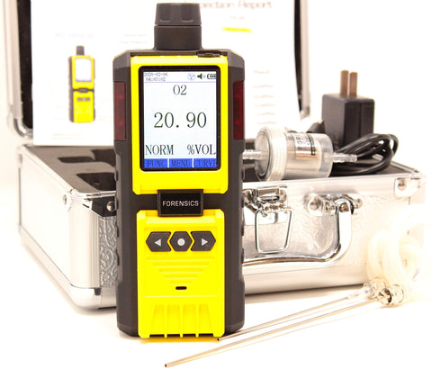 Oxygen Analyzer for Breath Analysis