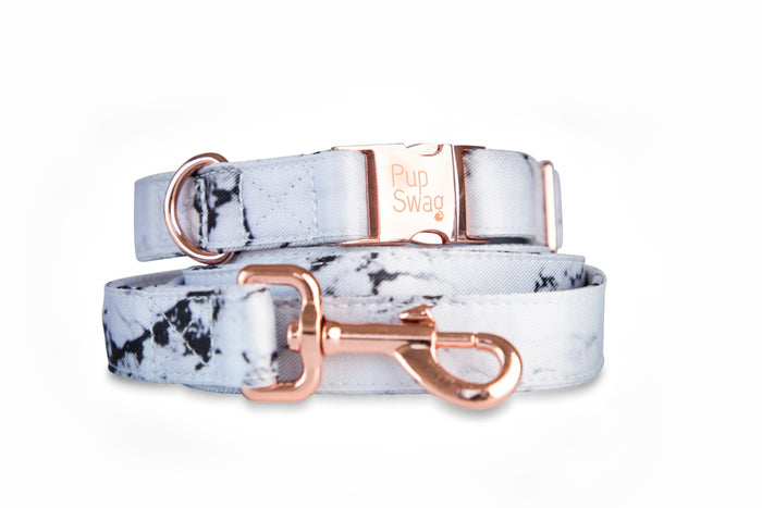 Luxe Marble Dog Collar