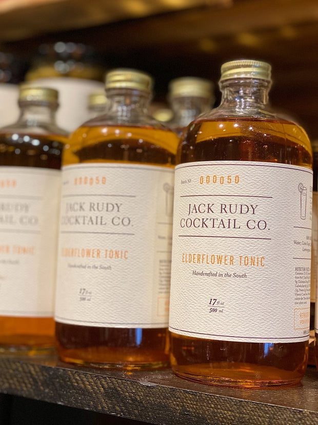 Jack Rudy: Elderflower Tonic