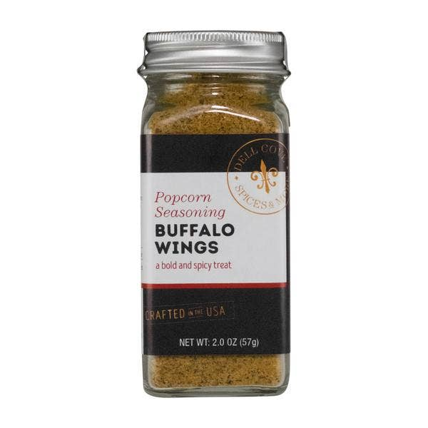 Dell Cove Spices & More Co. - Buffalo Wings Popcorn Seasoning
