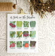 One Canoe Two: Freckled Hen Garden Calendar - Mid-South
