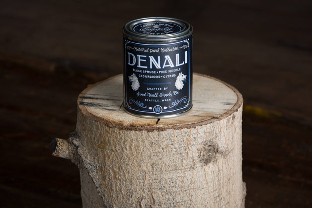 Good & Well Supply Co. - Denali Candle- Black Spruce, Pine, Cedarwood & Citrus